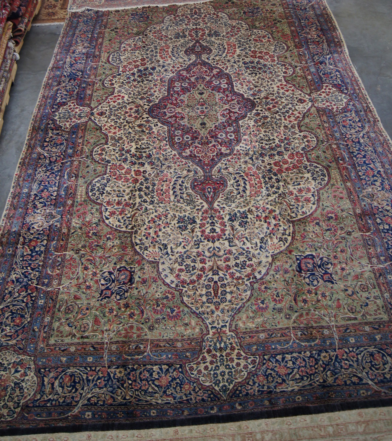 Antique Persian Lavar Kerman