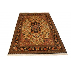 150 New 4_x7 Foot Hand-Knotted Oriental Rug,