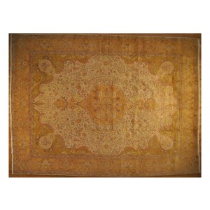 137 Circa 1950 10x13 Foot Hand-Knotted Iranian Rug,