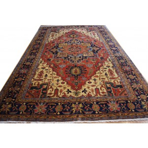 135 New 11x17_ Foot Hand-Knotted Iranian Rug,
