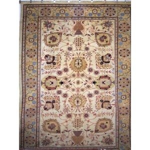 166 New 9x12 Foot Hand-Knotted Oriental Rug,