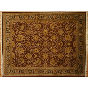 156 New 10x14 Foot Hand-Knotted Oriental Rug,