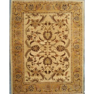 137 New 8x10 Foot Hand-Knotted Oriental Rug,