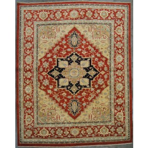 148 New 8x10 Foot Hand-Knotted Oriental Rug,