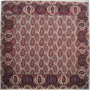 154 New 9x9 Foot Hand-Knotted Oriental Rug,