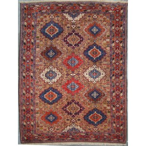 143 New 8x10_ Foot Hand-Knotted Iranian Rug,