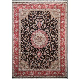130 New 10x13_ Foot Hand-Knotted Iranian Rug