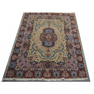 139 New 10x13_ Foot Hand-Knotted Iranian Rug
