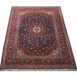 136 Circa 1960 8_x11_ Foot Hand-Knotted Iranian Rug