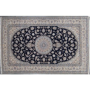 131 New 6_x10 Foot Hand-Knotted Iranian Rug
